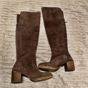Lucky Brand Rayla Over Knee Boots